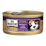 Nutro Max Senior Canned Cat Food Case