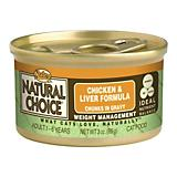 Nutro Natural Choice Wt Mgmt Canned Cat Food Case
