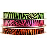 Wild Jungle Printed Grooming Ribbon