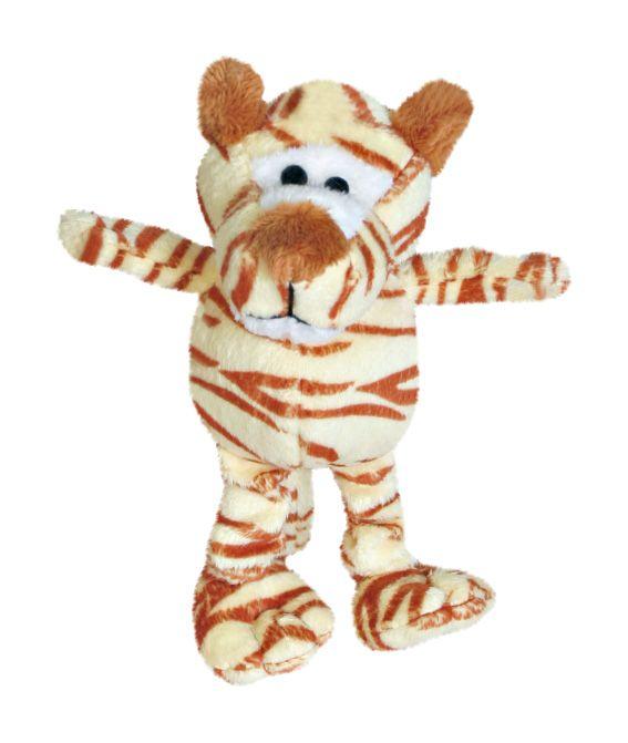Patchwork Pet Mini Wild Bunch Dog Toy Tiger