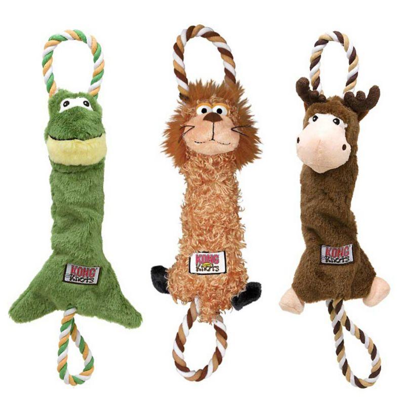 Kong Tugger Knot Dog Toy Small Moose