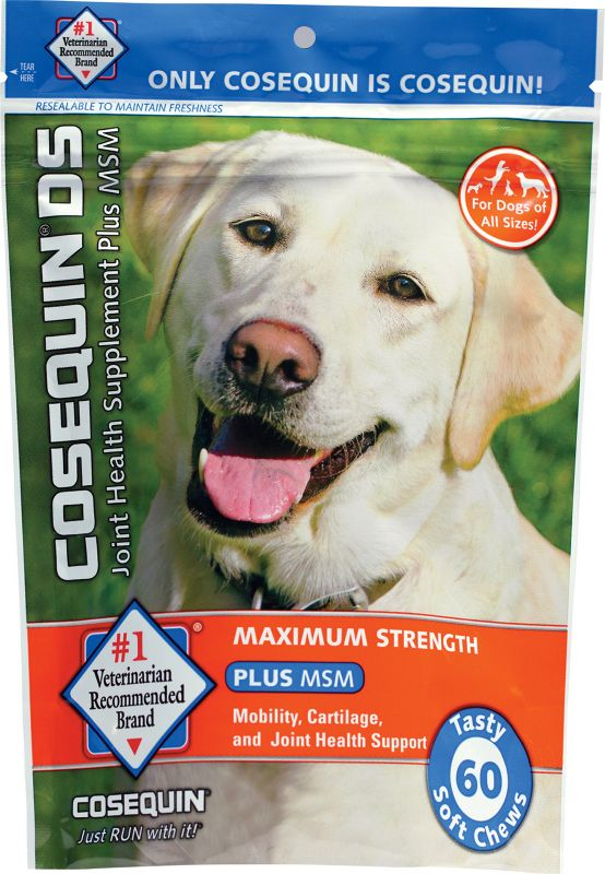 Cosequin Soft Chew Plus MSM Dog Supplement