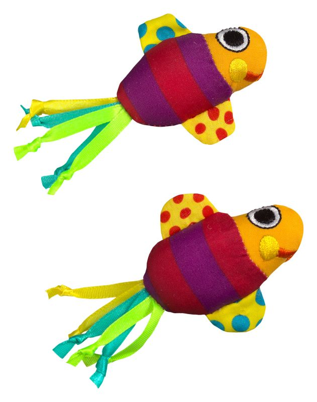 PetStages Catnip Fishy Fun Cat Toy