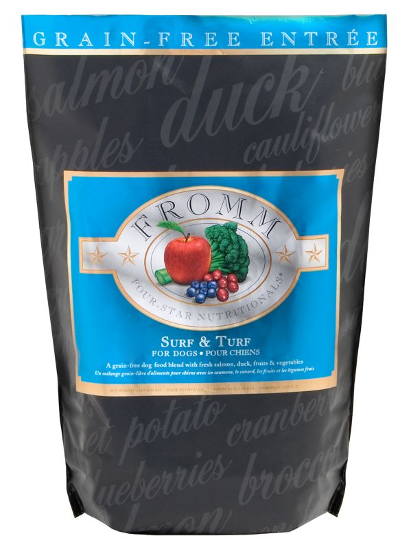 Fromm 4-Star Grain Free Surf/Turf Dog Food 12lb