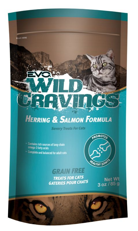 Evo Wild Cravings Herring/Salmon Cat Treat