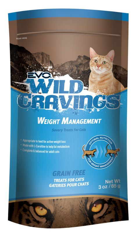 Evo Wild Cravings Weight Management Cat Treat