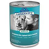 Blue Buffalo Longevity Adult Canned Dog Food Case