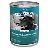 Blue Longevity Mature Canned Dog Food Case