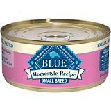 Blue Homestyle Recipe Sm Breed Can Dog Food Case