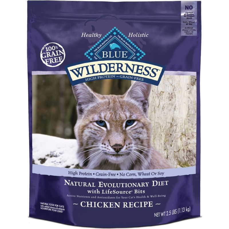 Blue Buffalo Wilderness Chicken Dry Cat Food 6lb
