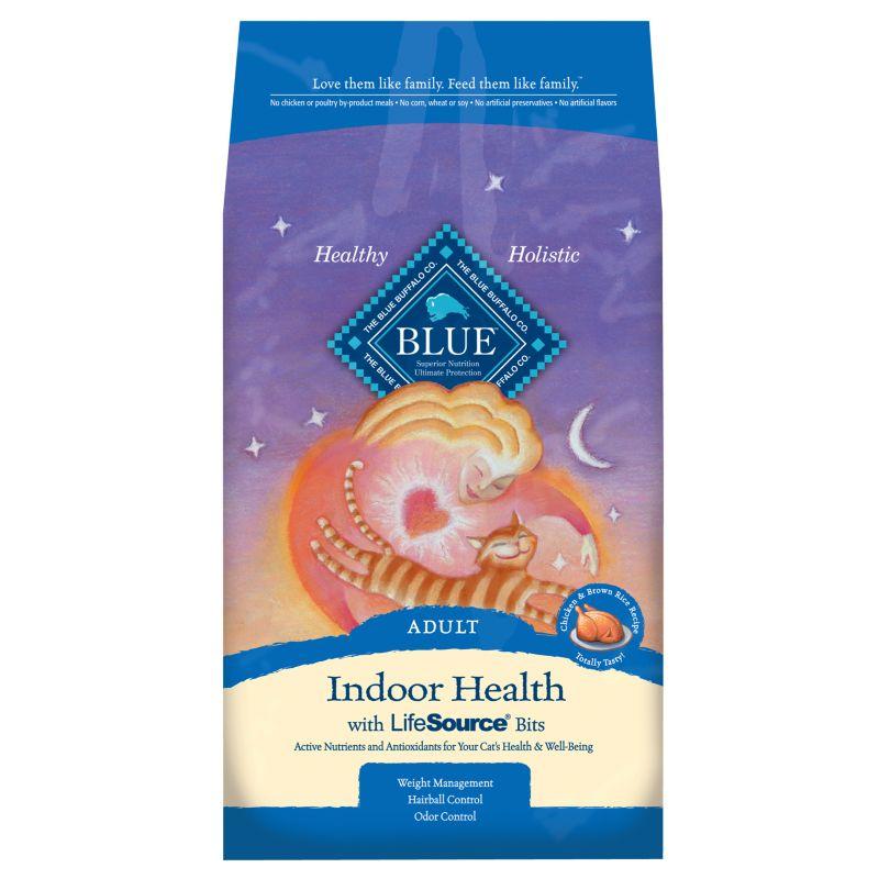 Blue Indoor Health Cat Food  Lbs