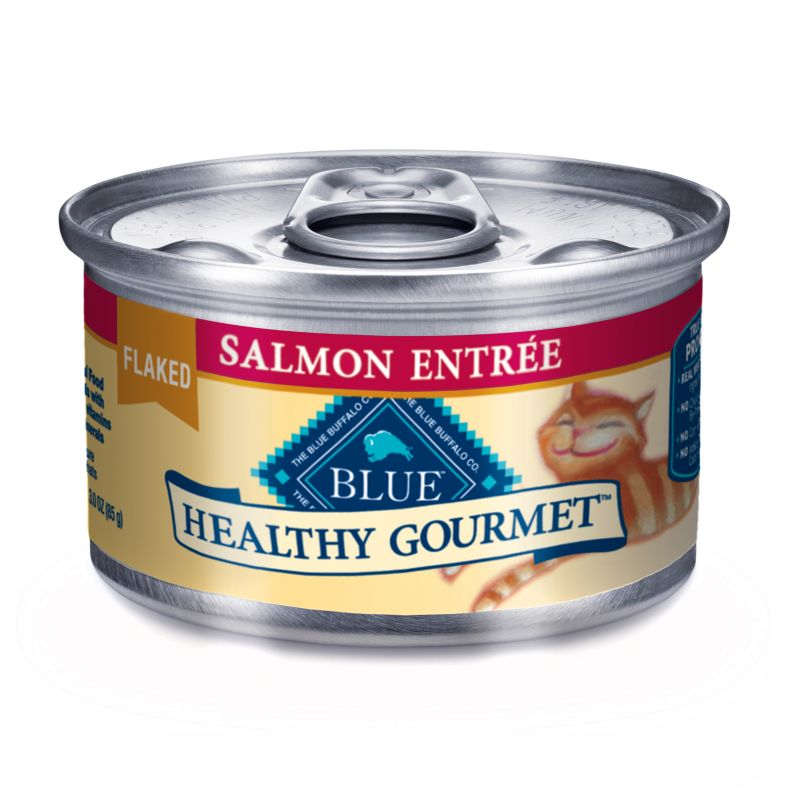 Blue Buffalo Gourmet Cat Food Case Flaked Salmon