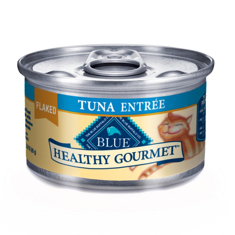 Blue Buffalo Gourmet Cat Food Case Flaked Tuna