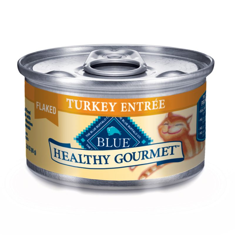 Blue Buffalo Gourmet Cat Food Case Flaked Turkey