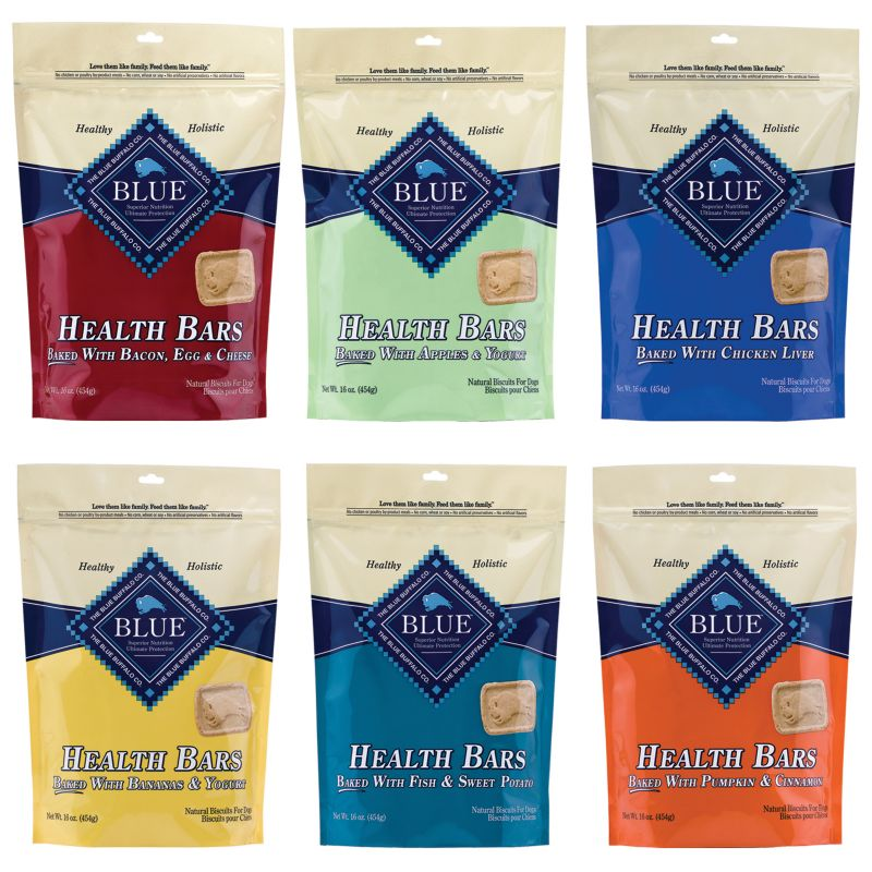 Blue Buffalo Health Bar Dog Treat Apple/Yogurt