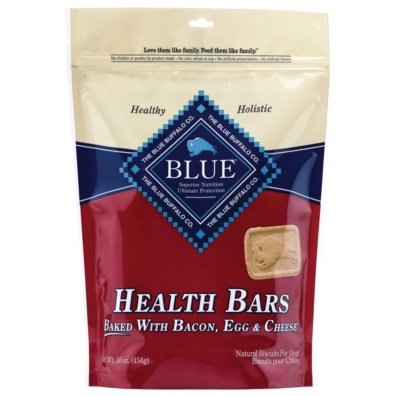 Blue Buffalo Health Bar Dog Treat Bacon/Egg/Cheese