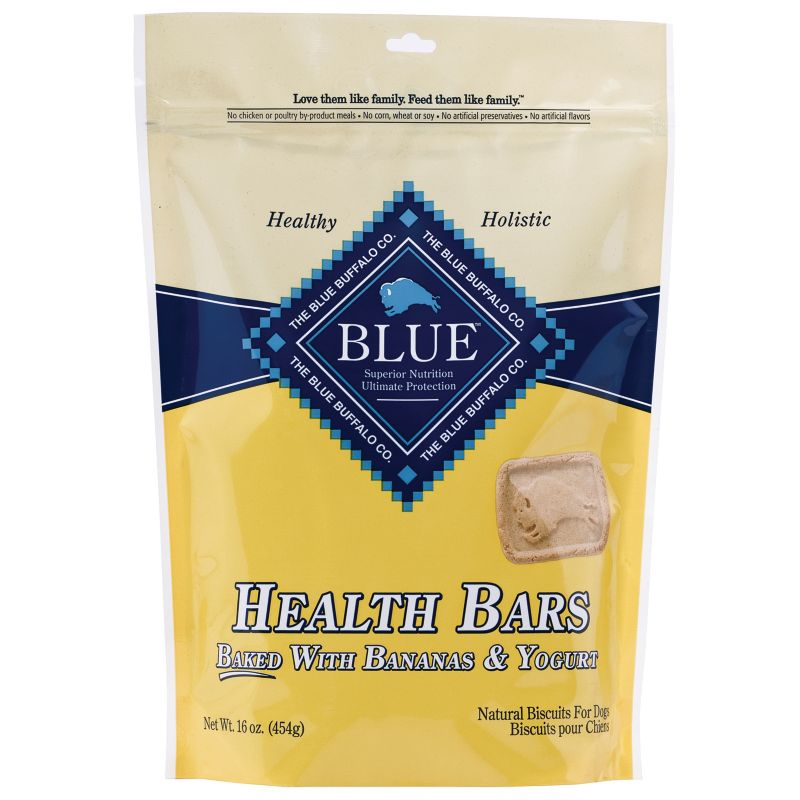 Blue Buffalo Health Bar Dog Treat Banana/Yogurt