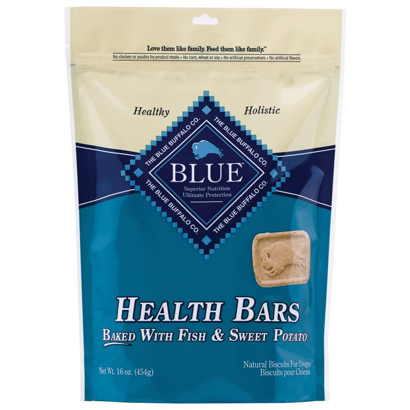 Blue Buffalo Health Bar Dog Treat Fish/Sweet Potat
