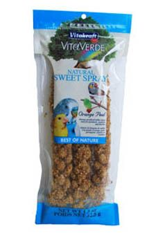 Vita Verde Sweet Spray Bird Treat Orange Peel