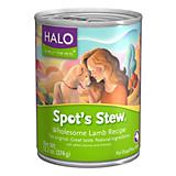 Halo Spots Stew Can Dog Food Case