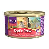 Halo Spots Stew Canned Cat Food Case