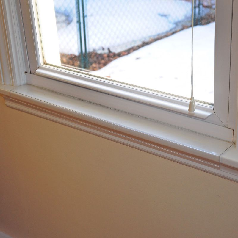 Image of Window Sill Protector 29.5in x 3.25in Clear