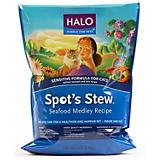 Halo Spots Stew Seafood Sensitive Dry Cat Food
