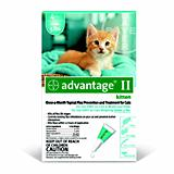 Advantage II for Kittens 4 Month Supply
