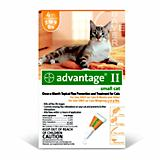 Advantage II for Cats 4 Month Supply