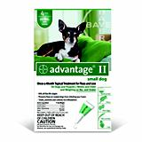 Advantage II for Dogs 4 Month Supply