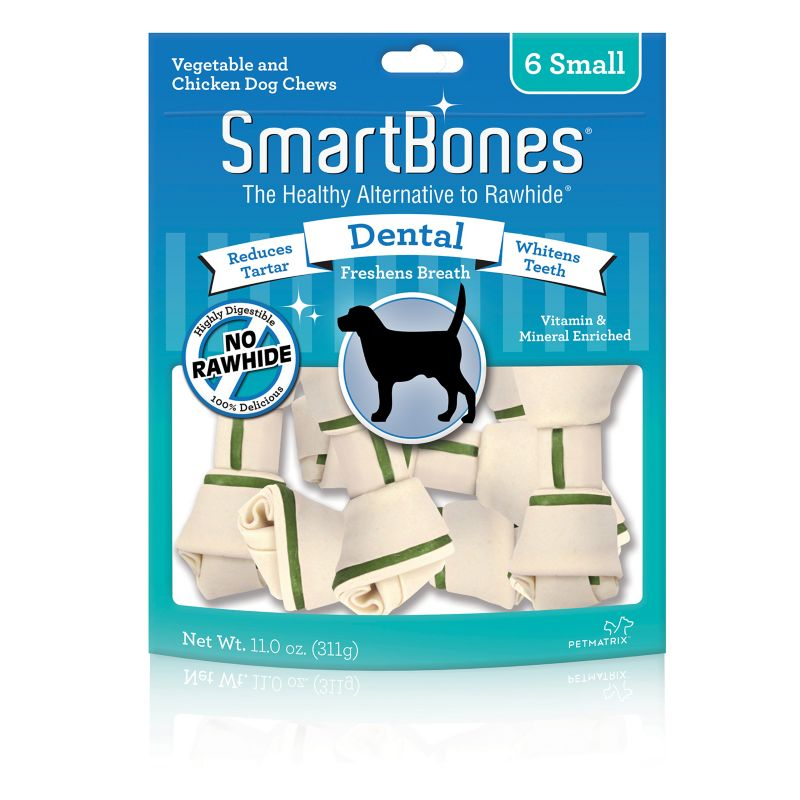 smartbones dental dog chew mini on lovemypets.com