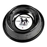 Embossed Non-Tip Stainless Dog Bowl