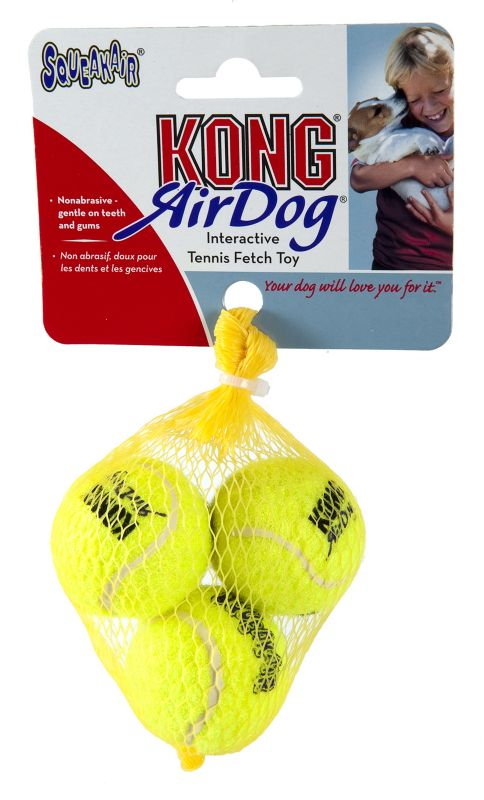 Air Kong X-Small Squeaker Tennis Ball