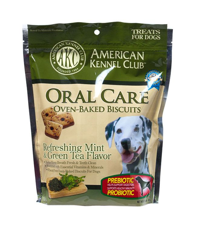 AKC Probiotic Oral Care Dog Biscuit
