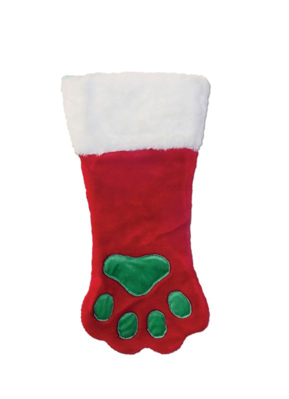 Christmas Paw Stocking Large