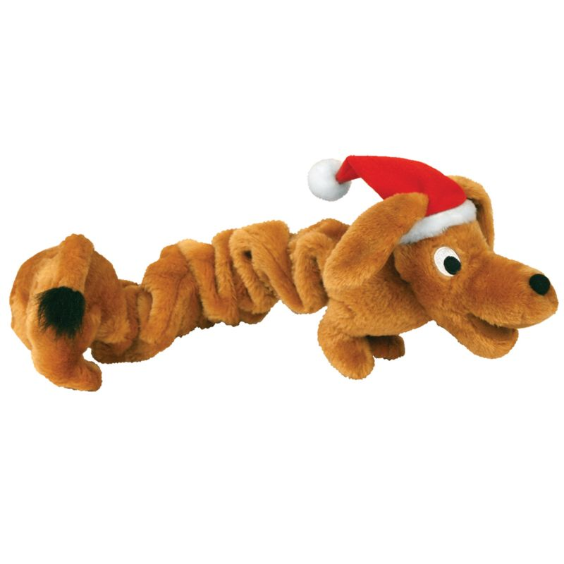 Holiday Bungee Weiner Dog Toy