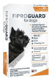 Fiproguard for Dogs 3 Month Supply Up to 22lbs