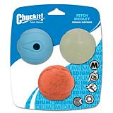 ChuckIt Fetch Ball Medley Dog Toy