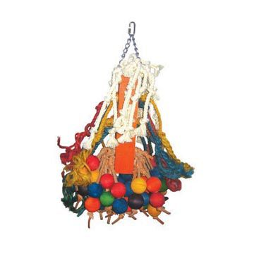Happy Beaks Giant Ball Cluster Bird Toy