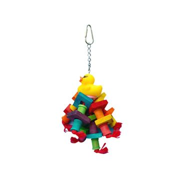 Happy Beaks Rubber Duck Bird Toy