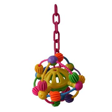 Happy Beaks Space Ball Bird Toy