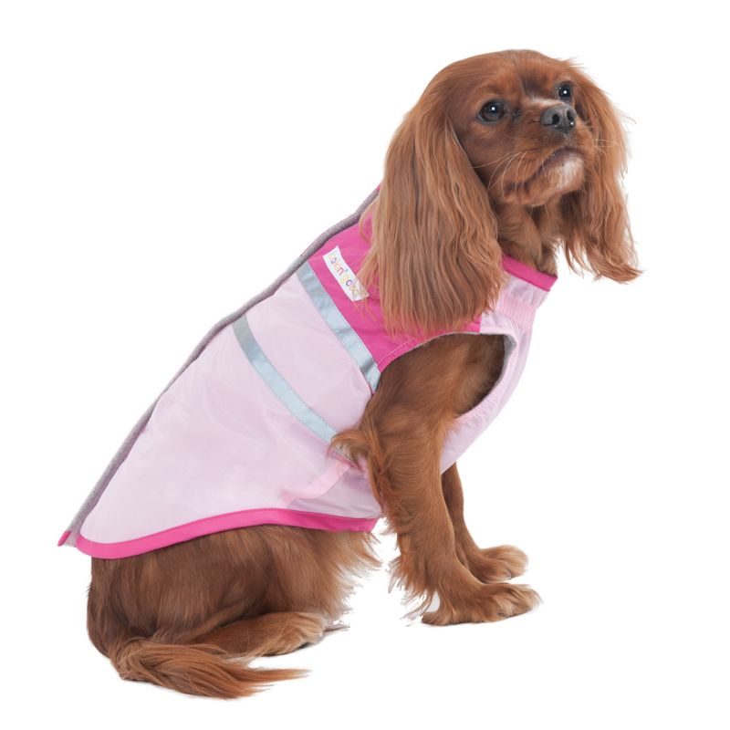 Fashion Pet Out and About Dog Coat Medium Pink