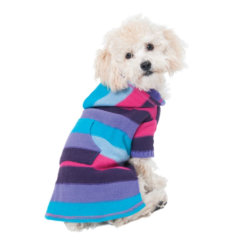 Fashion Pet Stripe to Stripe Dog Dress X-Small