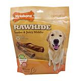 Nylabone Enhanced Rawhide Roll Dog Treat