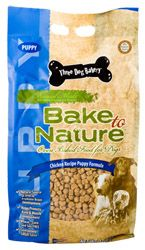 3 Dog Bakery Chicken Dry Puppy Food 4lb Best Price
