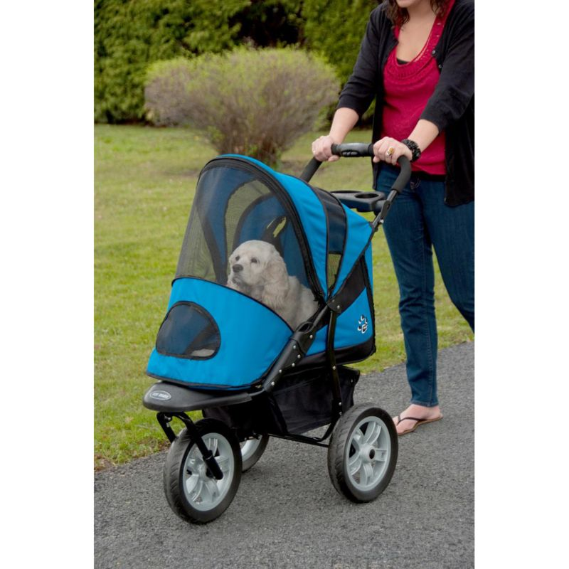 AT3 Generation 2 All Terrain Pet Stroller Red