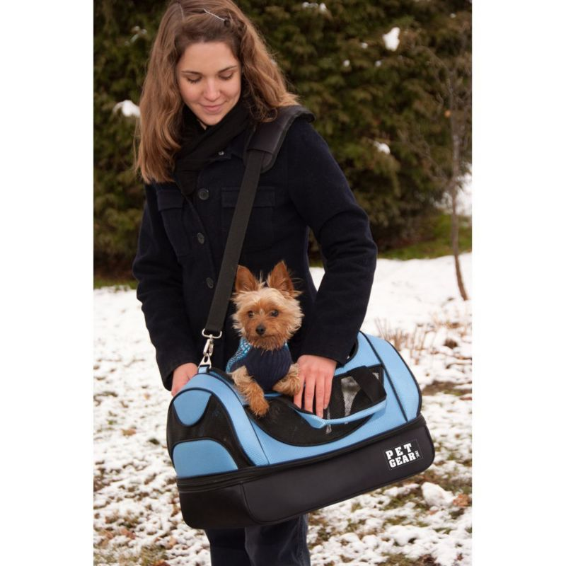 Aviator Pet Carrier Large Black Diamond
