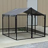 Options Plus Modular Dog Kennel with Shade