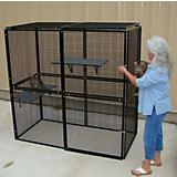 Bronze Plus Enclosed Top Dog Kennel