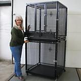 Options Plus Modular Bird Cage with Feeder